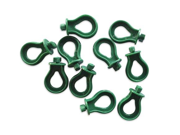 Evergreen Greenhouse Hanging Brackets Green 10 Pack
