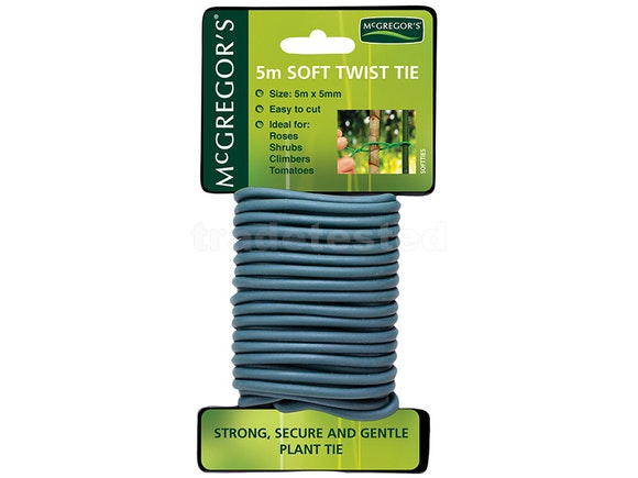 McGregor's Soft Twist Garden Ties 5mm x 5m