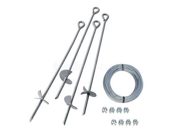 Multipurpose Ground Anchor Kit