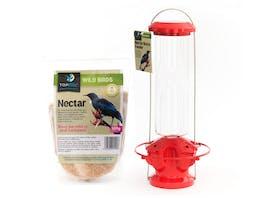 Topflite Nectar Nutra Bird Feeder Combo