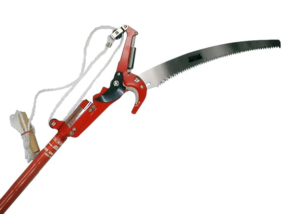 Bahco Extending Pole Pruner with Top Saw 2.95m