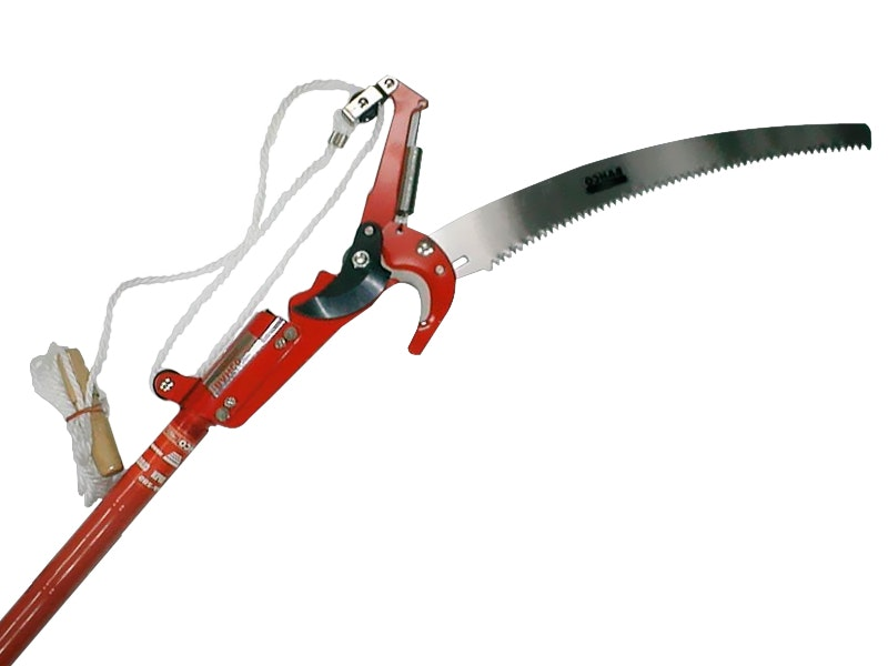 Bahco Extending Pole Pruner With Top Saw
