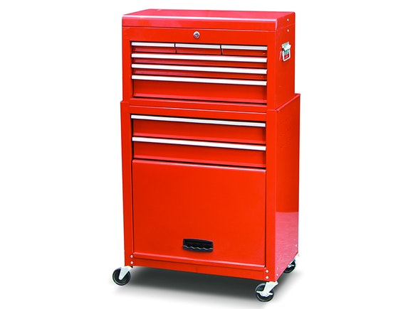 Tool Chest & Rolling Cabinet 8 Drawer Combo