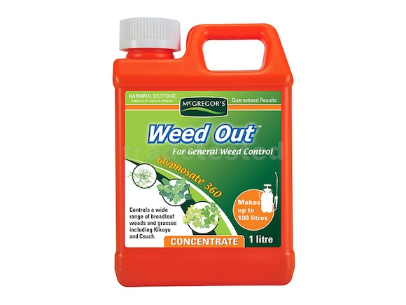 McGregor's Weedout General Weed Spray 1L Concentrate